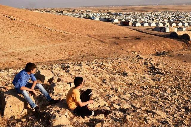 Zwei junge Jesiden sollten beim IS das Töten lernen