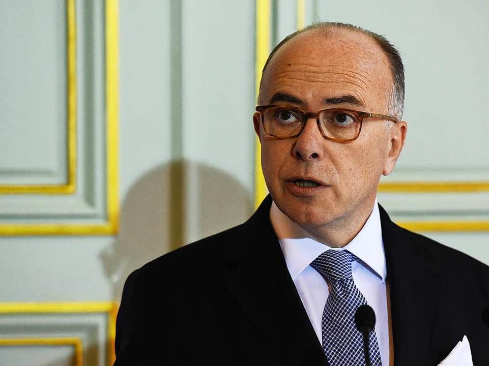 Innenminister Bernard Cazeneuve  | Foto: AFP