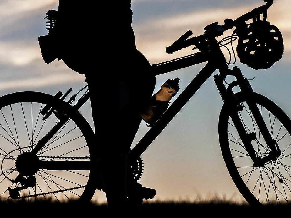 Die beiden jungen Männer hatten eing g...lenes Mountainbike dabei (Symbolbild).    Foto: dpa