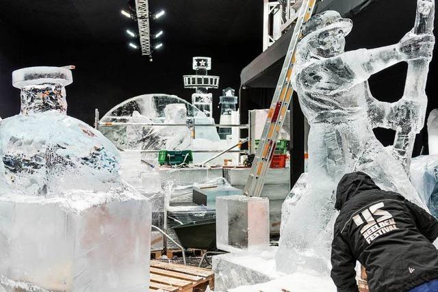 Magic Ice: Europa-Park baut eine Welt aus Eis und Schnee