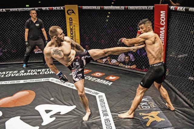 Kampfsport-Serie Mixed Martial Arts gastiert in der Basler Jakobshalle