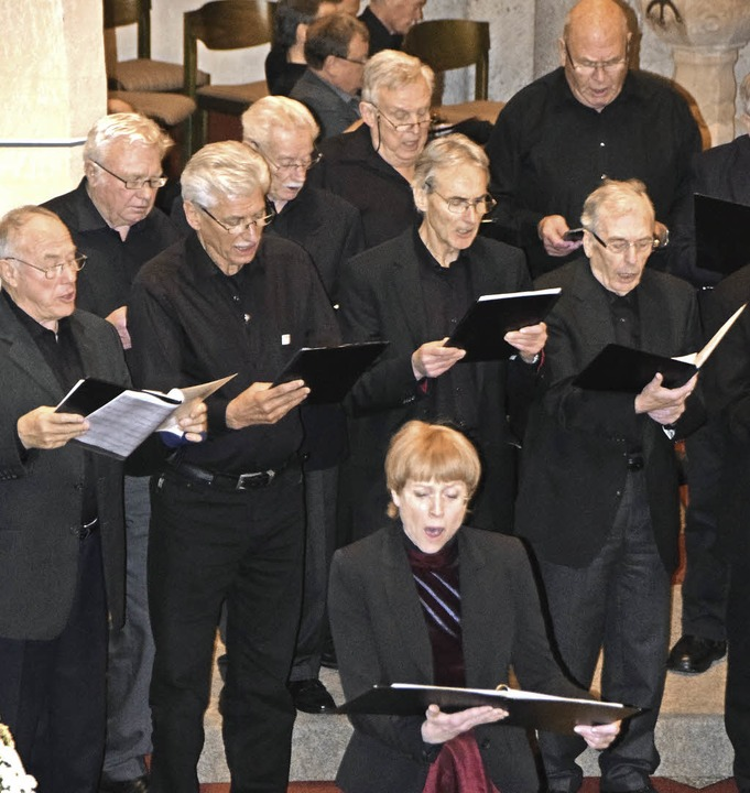 Gelungener Einstieg ins Konzertwochene...essei in St. Columba in Pfaffenweiler   | Foto: Sarah Nöltner