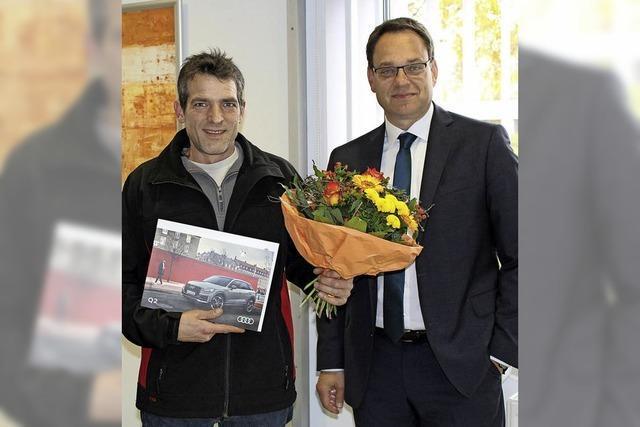 Audi Q2 für Ehrenkirchener