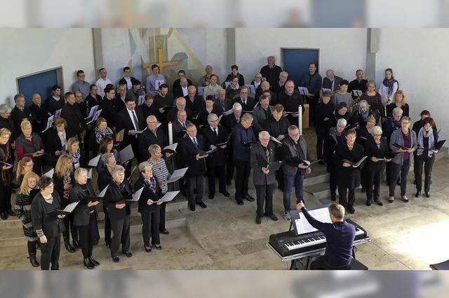 Sänger und Musiker gedenken der Toten