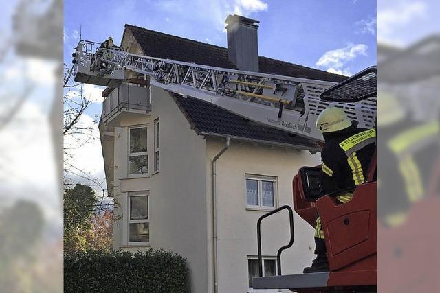 Küchenbrand in Denzlingen