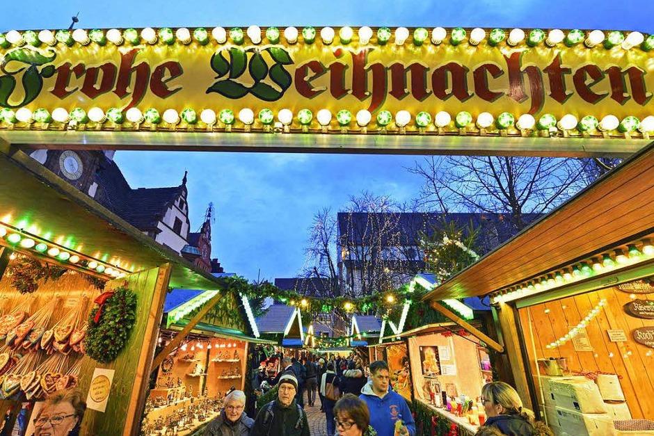 Impressionen vom Freiburger Weihnachtsmarkt 2016 (Foto: Michael Bamberger)