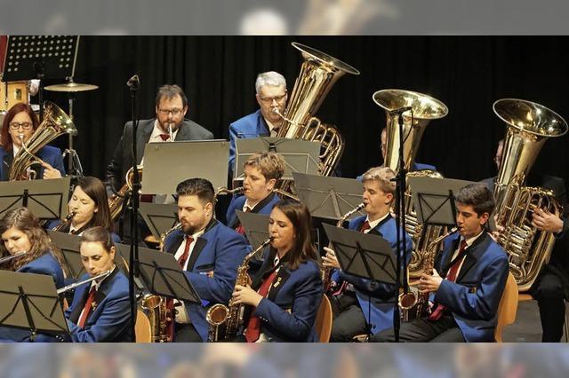 Das Orchester zeigt viel Spielfreude