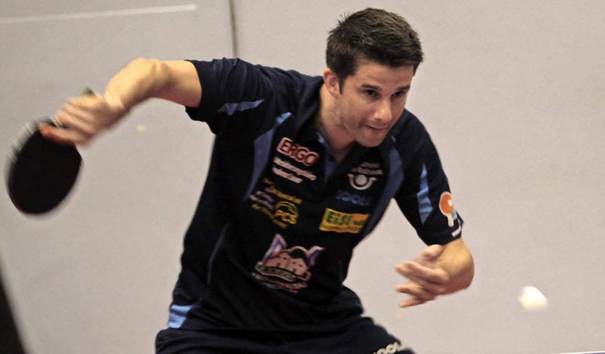 <BZ-FotoAnlauf>Tischtennis-Badenliga:<...lenvorletzten jedoch nicht verhindern.    Foto: Uwe Rogowski