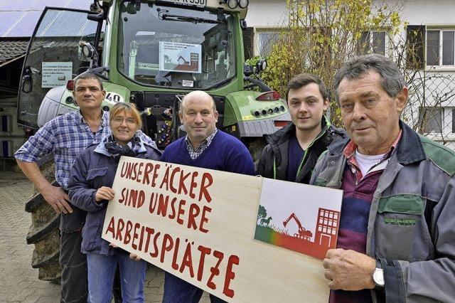 Bauern sorgen sich wegen des neuen Stadtteils Dietenbach