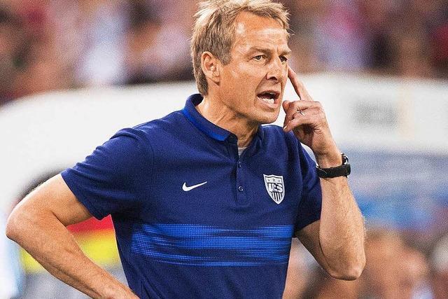 Jürgen Klinsmann als US-Chefcoach gefeuert
