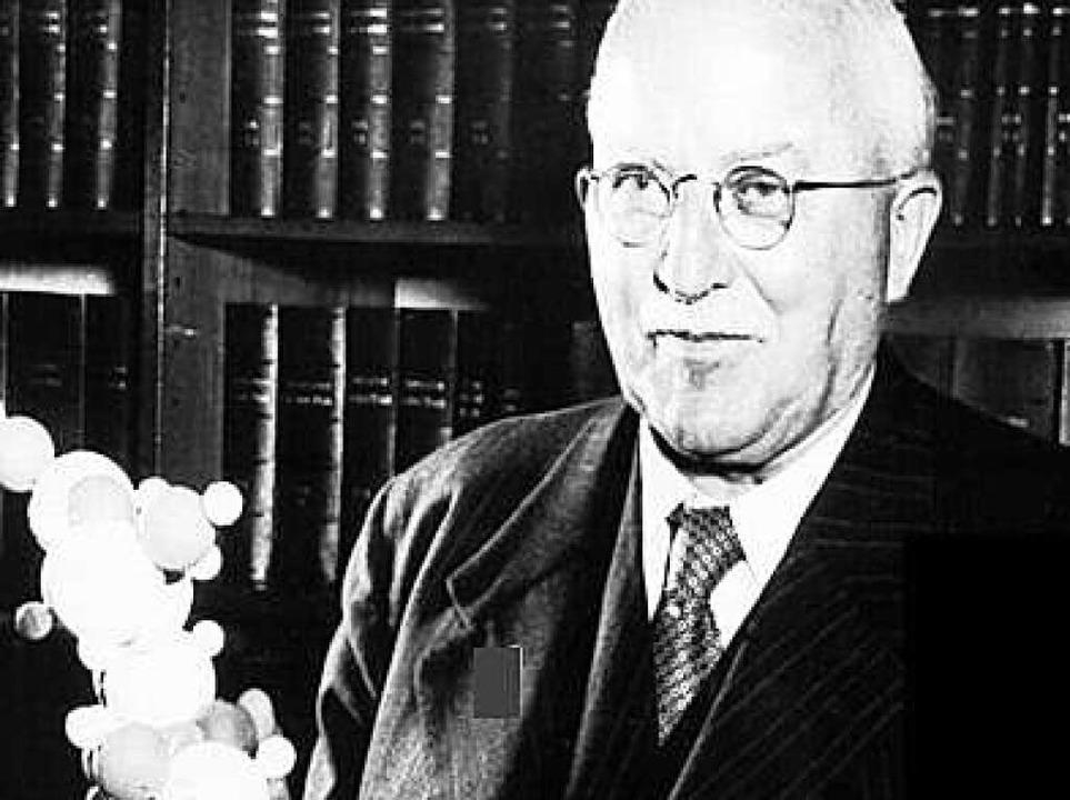 Chemie-Nobelpreisträger Hermann Staudinger  | Foto: Herder Verlag
