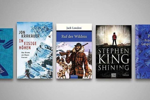 Die 5 kältesten Bücher über Eis und Schnee