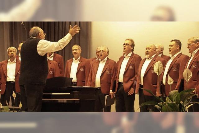 Männerchor präsentiert internationale Musikauswahl