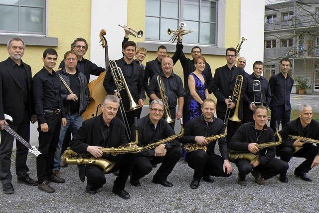Big Sound Orchestra und Bert Joris spielen in Lörrach, Rheinfelden und Grenzach-Wyhlen