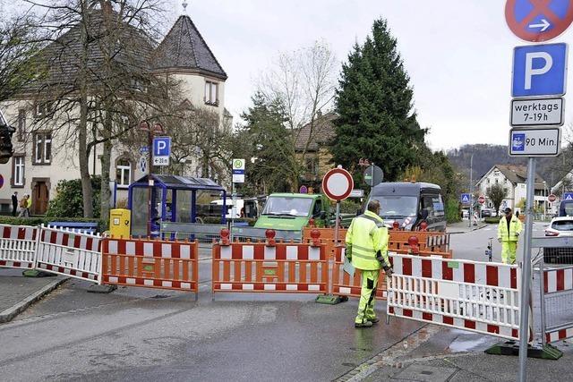 Beinah autofreie Eisenbahnstraße