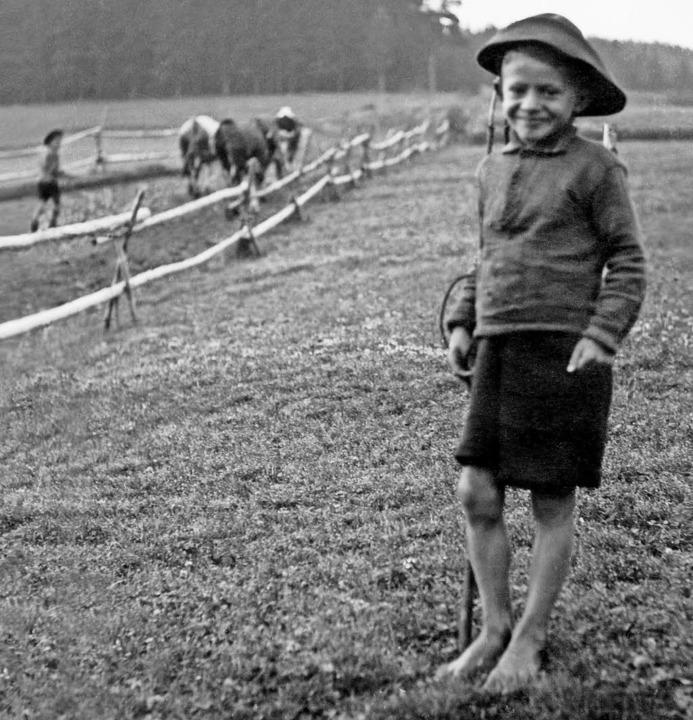 Hirtenbuben im Schwarzwald  | Foto: Archiv: Konrad Mayer