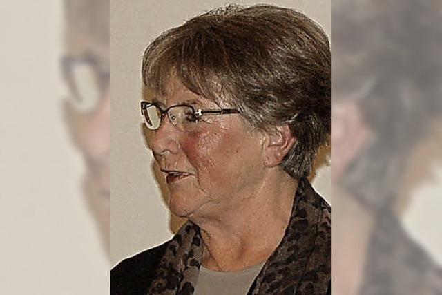 Cornelia Meier ist seit 25 Jahren CDU-Mitglied