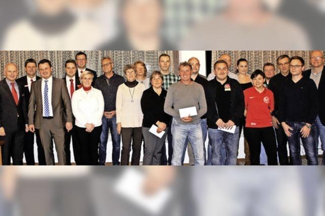 Murger Sportvereine bekommen Geld