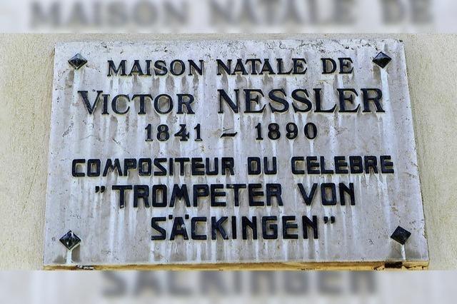 Ein Denkmal für Komponist Nessler