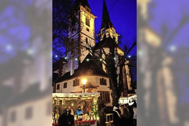Vorweihnachtliche Stimmung in Herbolzheim und Kenzingen
