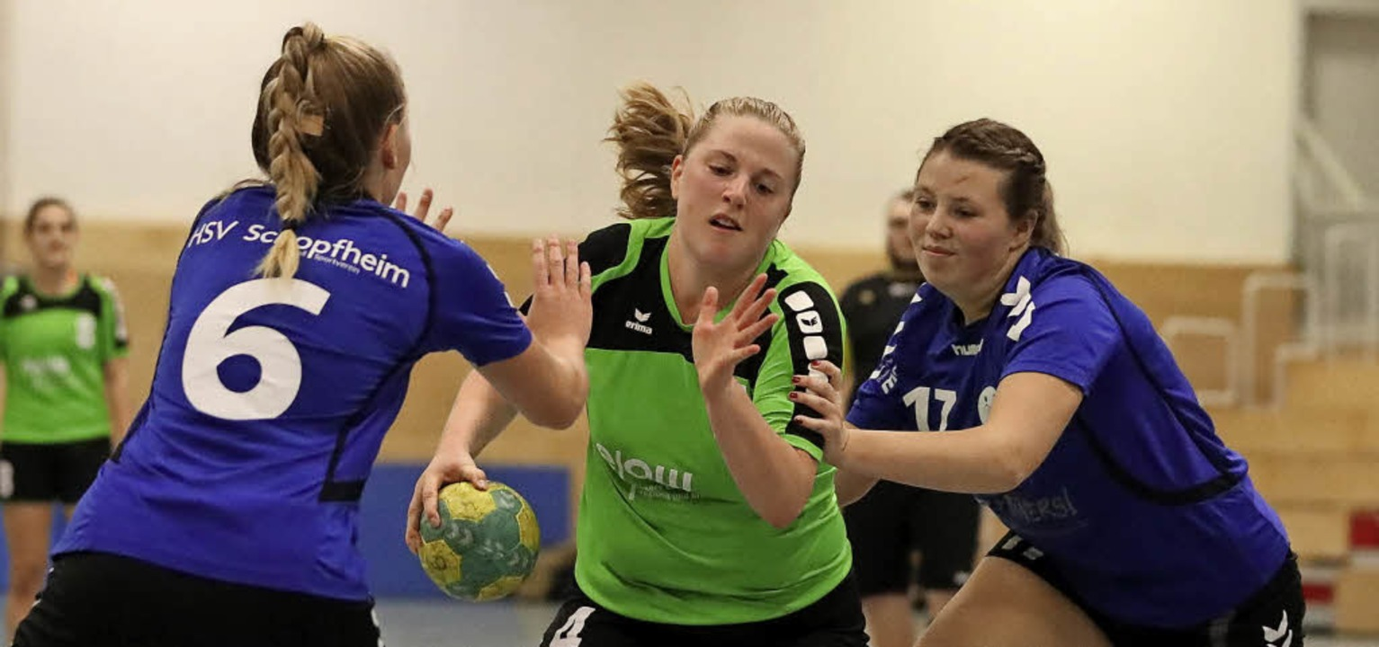 Nach der Pause vom HSV nicht aufzuhalt...e Schwald (links) und Justine Schwald   | Foto: Grant Hubbs