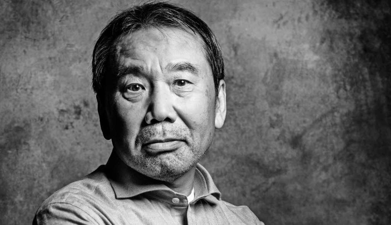 Gewissenhaft und mit einer gewissen De...anische Schriftsteller Haruki Murakami    Foto: butzmann