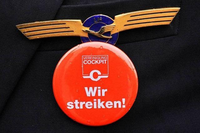 Passagiere der Lufthansa sollten sich auf Streik einstellen
