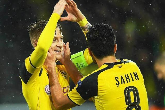 Dortmunder Torfestival: BVB feiert Marco Reus