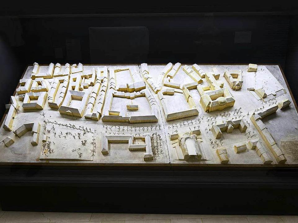 Stadtmodell ohne Synagoge  | Foto: Ingo Schneider