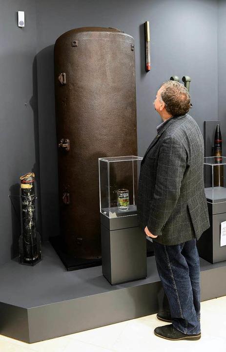 Sprengstoffbombe  | Foto: Ingo Schneider