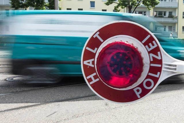 Die Polizei hat ihre Fahrzeugkontrollen im Landkreis Lörrach verstärkt