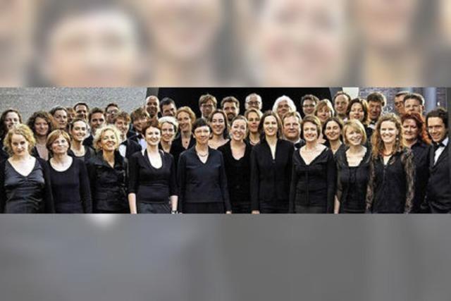 Adventskonzerte der Camerata Vocale Freiburg in Sulzburg und Freiburg