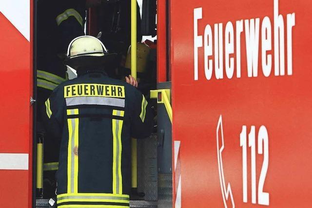 Metallspäne lösen in Lörrach Feuerwehreinsatz aus