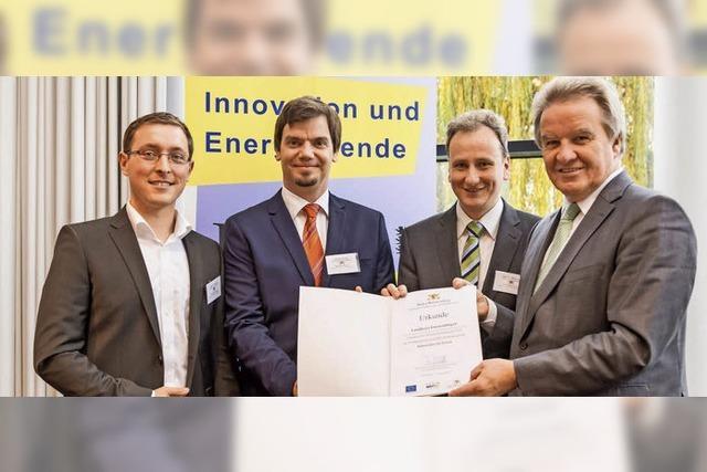 Preis im Klimaschutz-Wettbewerb
