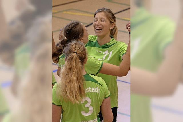Volleyballerinnen halten Kurs Richtung Landesliga
