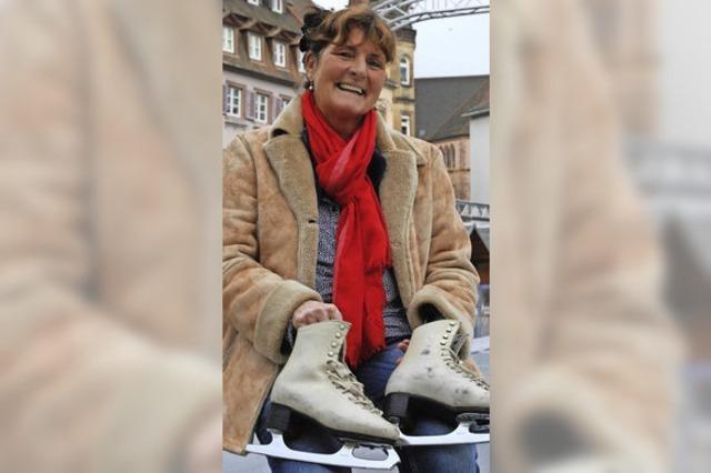 Emmendingen: Ex-Eisläuerin Ariane Winterle bieten Gratis-Training auf dem Marktplatz an