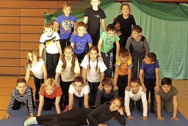 Jonglieren und Akrobatik