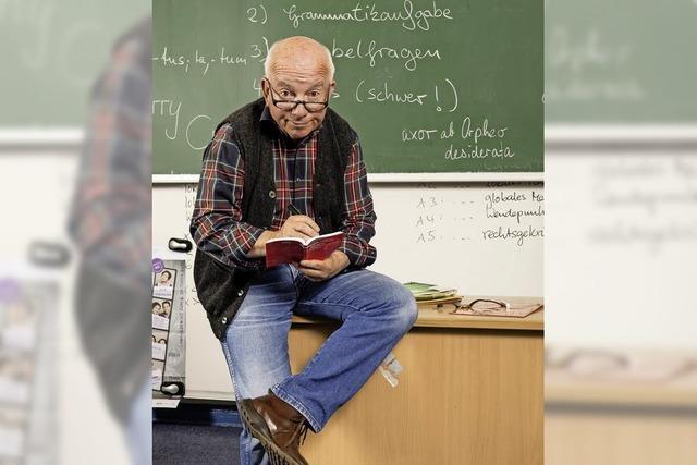 Horst Schroth als Lehrer Laux mit