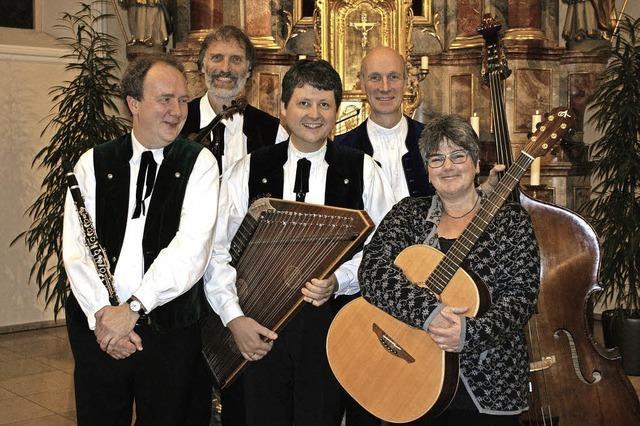 Schwarzwälder Stubenmusik in der Wallfahrtskirche Maria Lindenberg, St. Peter