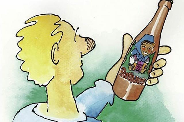 Cartoons um Thema Bier