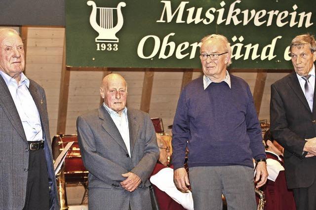 Musikverein dankt seinen Treusten