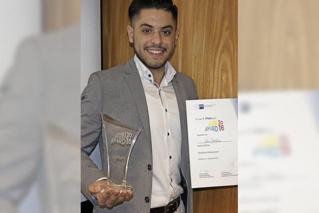 Azubi Award für Ausbildung im Einzelhandel