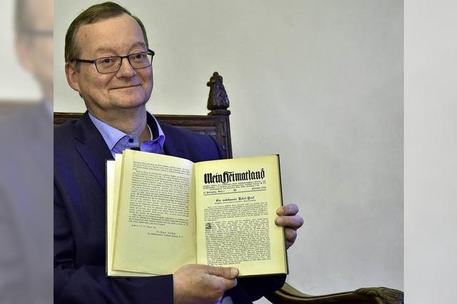 Willi Oberkrome spricht bei der Samstags-Uni über Heimatschutz ab 1933