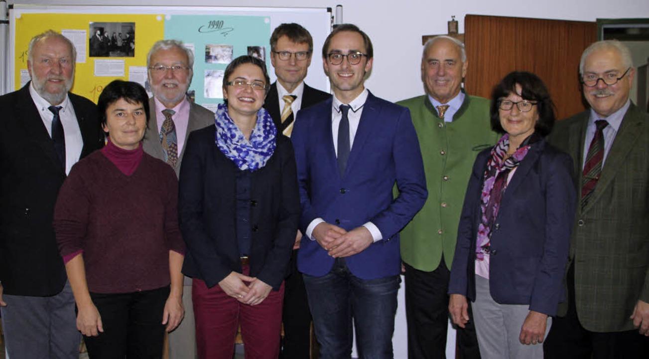 Das Vorstandsteam des Fördervereins un...elstube mit Kinderkrippe Oberrotweil.     Foto: Herbert Trogus