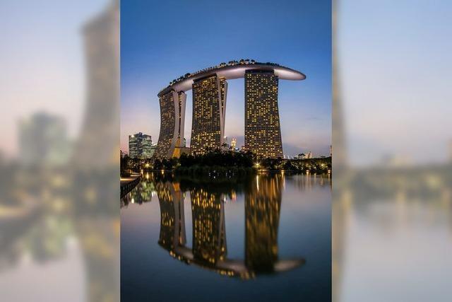 Wirtschaftsministerin besucht Singapur