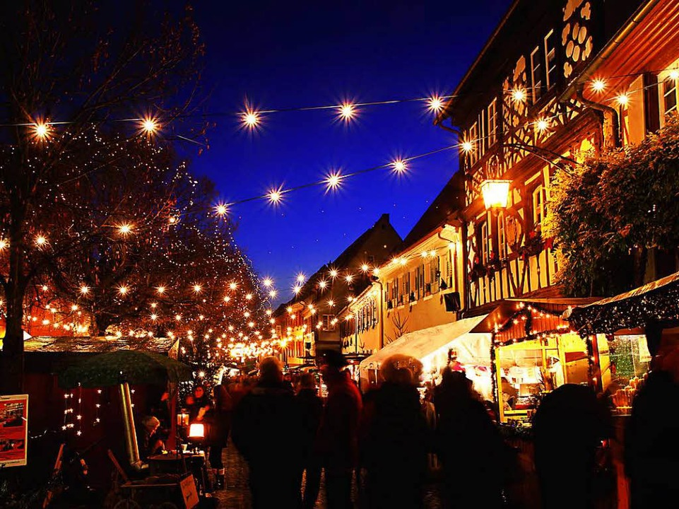 Weihnachtsmarkt Die Schönsten.Die Schönsten Weihnachtsmärkte In Der Region Freiburg Freiburg