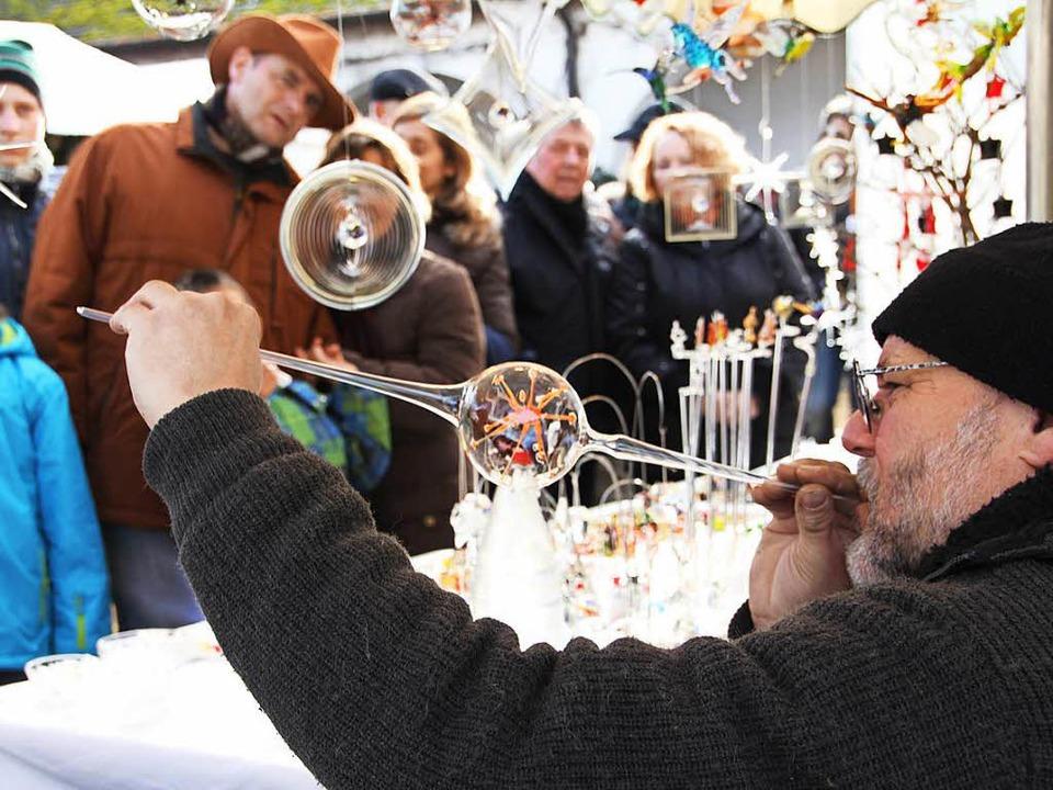 Kunsthandwerkermarkt in Heitersheim  | Foto: Sabine Model