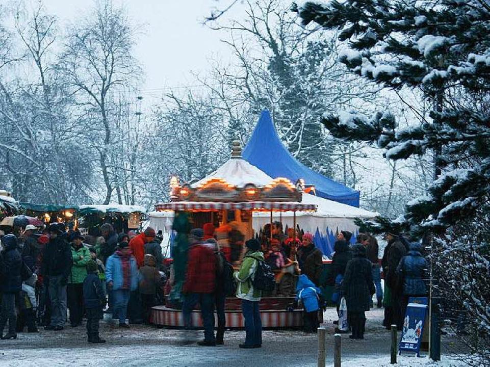 Weihnachtserlebnis Kirchzarten  | Foto: Gaby Junginger