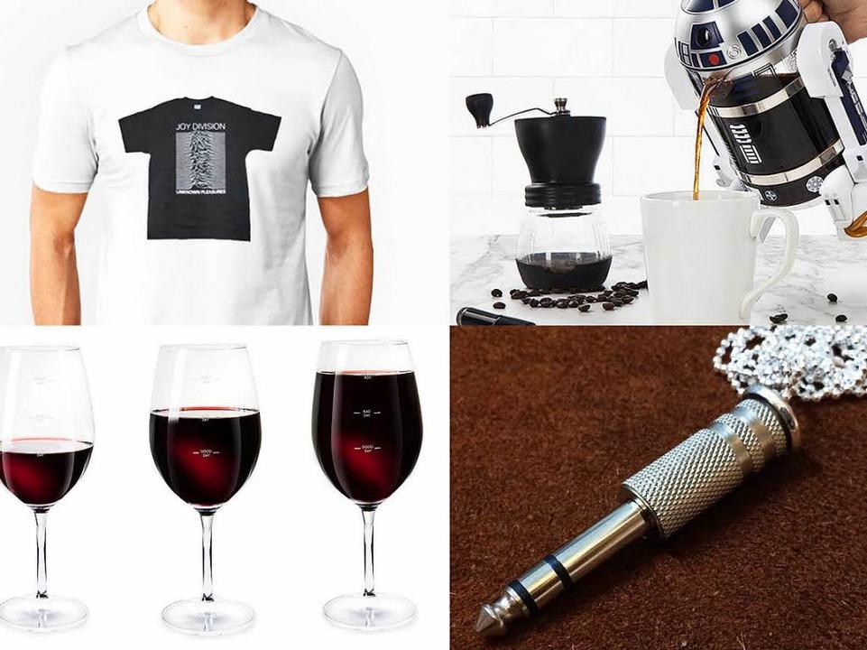 Das Jo-Division-Shirt-Shirt, R2-D2 als... Weinglas für gute und schlechte Tage.  | Foto: PR