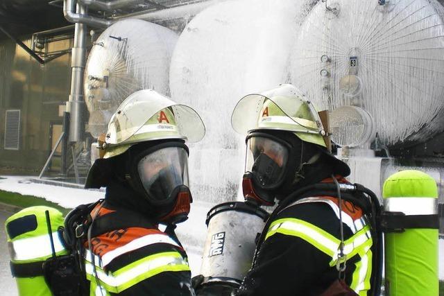 Feuerwehren rücken zu Großübung aus